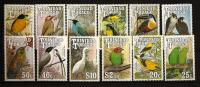 Trinité Trinidad & Tobago 1990 N° 651 / 62 ** Oiseaux, Forpus Passerinus, Tyrannus Savana, Icterus Nigrogularis, Falco - Trinidad & Tobago (1962-...)