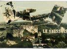 MERRY Sur Yonne--1965--Les Roches Du SAUSSOIS-Centre D'entrainement Du Club Alpin,cpsm  10 X 15 N°4531 éd Nivernaises - France