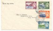 Jamaica FDC 15-11-1956 - Jamaïque (...-1961)
