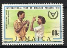 Jamaica 1981, Year Of Disabled Persons - Sign Language - Deaf Student (o), Used - Jamaica (1962-...)