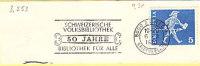 CH-Zürich 1970. Schweizerische Volksbibliothek. Bibliothek Für Alle (3.253) - Svizzera