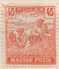 Hungary, 45 F. 1919, Sc #186, MH - Hungary