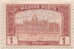 Hungary, 1 K. 1919, Sc #190, MH - Hungary