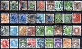 Danemark - Lot De 36 Oblitérés Différents Entre N° 107 Et N° 213 A (Y&T) - Lotes & Colecciones