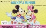 Télécarte Japon (3847) DISNEY * Phonecard Japan * Telefonkarte * MICKEY & MINNIE - Disney