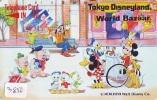 Télécarte Japon (3850) DISNEY * Phonecard Japan * Telefonkarte * BAZAAR * 110-33220 - Disney