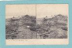 Les  Rives De La Mer  Morte. -  BELLE   CARTE  STEREO  - - Cartoline Stereoscopiche