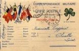 CARTE POSTALE MILITAIRE  En Franchise Postale  1/02/15 - Poste