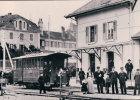 Chemin De Fer Allaman-Aubonne-Gimel, Train En Gare D´Aubonne, Retirage BVA  9 AAG (19) - VD Vaud