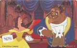 Télécarte DISNEY Japon (3876) Phonecard Japan * THE BEAUTY AND THE BEAST  * CINEMA * FILM * 110-151713 - Disney