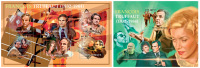 MOZAMBIQUE 2012 - Francois Truffaut, Cinema. M/S + S/S. Official Issue - Film