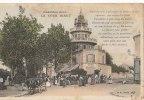 92 CHATILLON Belle CPA Colorisée  TOUR BIRET  Rendez Vous Des Familles Le Dimanche Restaurant VINS Attractions - Châtillon