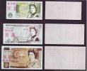 Replica,BOC Bank  Training/test Banknote,United Kingdom Great Britain POUND A Series 5 Different Note Specimen Overprint - Falsi & Campioni