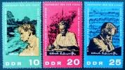 ALBERT SCHWEITZER 1965 - NEUFS ** - YT 783/85 - MI 1084/86 - [6] République Démocratique