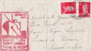 7712# ARGENTINE LETTRE EXPOSICION FLOTANTE ESPANOLA CIUDAD DE TOLEDO Obl SECCION FILATELICA ARGENTINA 1956 BUENOS AIRES - Argentina