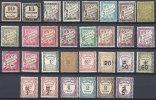 FRANCE - Bon Lot De Taxes De 1859 à 1931 Neufs TB - 1859-1955 Neufs