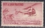 SAN MARINO 1961 ELICOTTERO A138 - San Marino