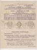 ### Publicité , Johannés Frère , Saint Ouen , Constructeurs Mécaniciens ,  Pompes à Engrenage En Fonte - Advertising
