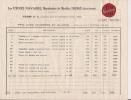 ### Publicité , Tarif , Usines Navarre , Manufacture De Meubles , Coarraze , Basse Pyrénées , Frais Fr : 1.55€ - Advertising