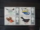 Regno Unito - 1966 - Uccelli - Nuovo - Mi N. 425/28 - Ongebruikt