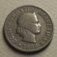 1882 - Suisse - Switzerland - 10 RAPPEN, (B), KM 27 - Suisse