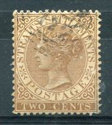STRAITS SETTLEMENTS 1882 - Sc.40 (Mi.30, Yv.31) Used - Straits Settlements