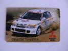 Mitsubishi Portuguese Plastic Pocket Calendar 1995 - Calendriers