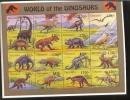 TANZANIA   1250 **  MINT NEVER HINGED MINI SHEET OF DINOSAURS   #   M-499*  ( - Prehistorics