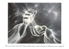 CPM Carte ésotérique Spiritualité Mythologie 15x10,5 Cm / Mains Terre Dieu Amour étoiles Cosmos Citation - Contes, Fables & Légendes