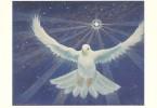 CPM Carte ésotérique Spiritualité Mythologie 15x10,5 Cm / Colombe étoile Cosmos Espace - Contes, Fables & Légendes