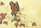 CPM Carte ésotérique Spiritualité Mythologie 15x10,5 Cm / Fée Elfe Papillon - Contes, Fables & Légendes