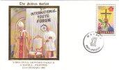 1995 MANILA FILIPPINE  - VIAGGI DEL PAPA GIOVANNI PAOLO II - YOUTH FORUM - Filippine