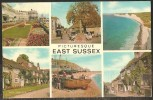 Picturesque EAST SUSSEX Eastbourne Winchelsea Alfriston Hastings Sevensisters Rye Crawley 1975 - Non Classés