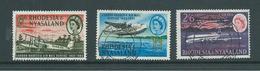 Rhodesia & Nyasaland 1962 Air Transport Anniversary Set 3 FU - Rhodésie & Nyasaland (1954-1963)
