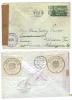 USA, 1953, Briefkuvert Von  Yellow Spring N.Linz (Empfängeranschr. Händisch Auf Wien Korr.) Mit Österr. Zensur (9456W) - Vereinigte Staaten