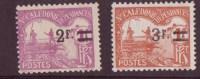 Nouvelle-Caledonie N° 24 à 25 **TAXE Neuf Sans Charniere - Portomarken
