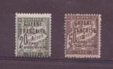 Guyane N° 10-11** TAXE Neuf Sans Charniere