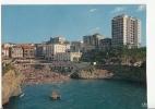 BR8943 Le Port Vieux  Biarritz  2 Scans Bande Blanche Du Scanner - Biarritz