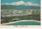 BR9032 Ala Moana Beach And Park  2 Scans Bande Blanche Du Scanner - Oahu