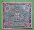 Banknote Geldschein Alliierte Bes.-Gem.Ausg. 5 GERMANY Papermoney. - 5 Mark