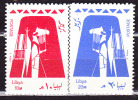 2 Zegels Lybia. - Libye