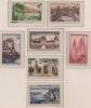 FRANCE.1957. SERIE TOURISTIQUE. YVERT N°1125 à 1131. COTE: 3.50 EUROS. NEUF ***;TTB.V117 - France