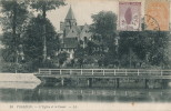 107/19 - FRANCE Carte-Vue VIERZON 1919 TP Blanc 3c En MIXTE TP Orphelins 2 C Vers La Belgique - 1900-29 Blanc
