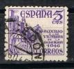 Sello 5 Cts Victimas Guerra 1949, Fechador SACEDON (Guadalajara) Num 1062 º - 1931-50 Usati