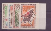 Cameroun   N°386 à 389** N.D Neuf Sans Charniere Folklore Et Tourisme - Cameroun (1960-...)