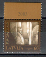 Lettland / Latvia / Lettonie 2003 EUROPA ** - Europa-CEPT