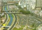 L-BRASIL-SAO PAULO-VISTA AEREA DO PARQUE DOM PEDRO II,COM RIO TAMANDUATEL - São Paulo