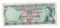 FIJI 50 CENTS 1969 VF P 58a  58 A - Fidji