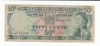 FIJI 50 CENTS 1969 AVF P 58a  58 A - Fiji