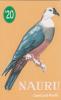 NAURU - Micronesian Pigeon, First Issue $20, Tirage 1200, Used